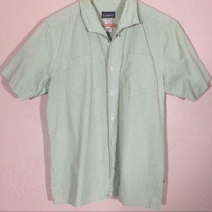 Patagonia shirt button up check 100% organic